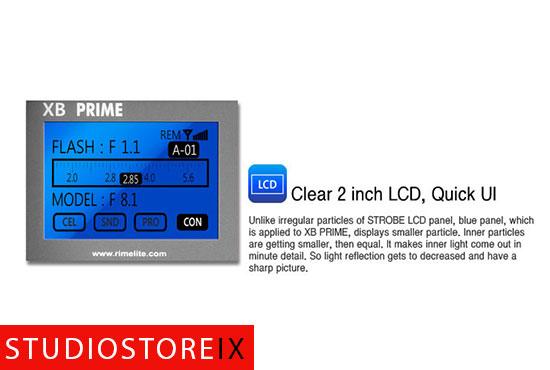 RIME LITE XB Prime 3 300W/s Studioblitzleuchte-344