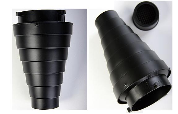 Illuminate SD-01 Snoot Set / Spotvorsatz-61