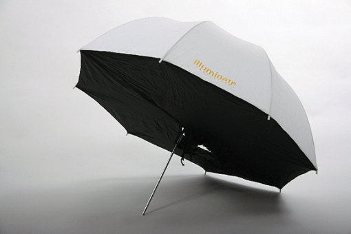 Illuminate Schirmsoftbox Durchlicht, 102cm-218