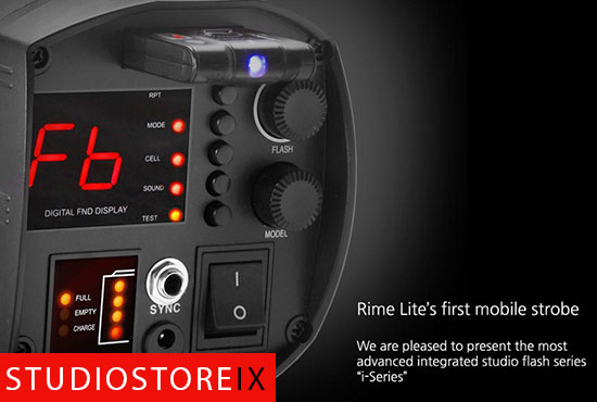 RIME LITE i.2 (200w/s) integrierter Iithium-ion Akku Studioblitzleuchte-427