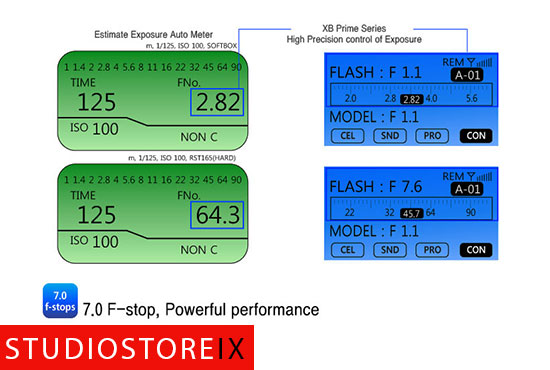 RIME LITE XB Prime 5 500W/s Studioblitzleuchte-317